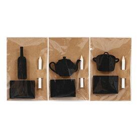 送料無料 12個セット キッチンブラックボードセット メッセージボード 黒板 西海岸 北欧 シンプル おしゃれ