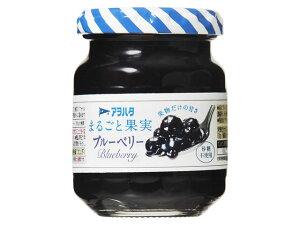 アヲハタ まるごと果実 ブルーベリー 125g x12 *