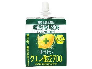 ポッカサッポロ キレートレモン クエン酸2700ゼリー 165g x6 *