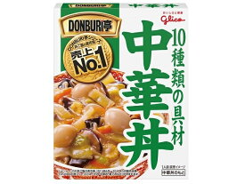 グリコ DONBURI亭 中華丼 210g x10 *