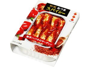 K&K 缶つま 激辛ハバネロサーディン 105g x6 *