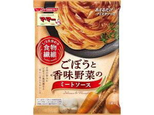 マ・マー 1/3日分の食物繊維 ごぼうと香味野菜のミートソース 140g x10 *