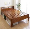 送料無料 すのこベッド セミダブル ベッド ベット フレームのみ 高さ3段階調節 高さ調整 耐荷重600kg 木製ベッド ヘッ…