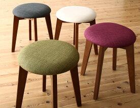【送料無料】 スツールのみ ブラウン 1P コンパクトダイニング idea イデア 木製 食卓椅子 アイボリー ブラウン ライトグレー ブルー レッド