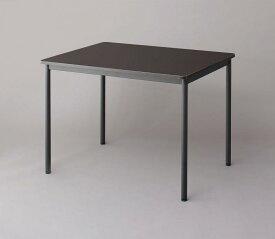 【送料無料】 オフィスワークテーブルのみ 幅100 奥行き70 高さ70cm 多目的オフィスワークテーブル CURAT キュレート オフィステーブル 木製 スチール脚 平机 ダークブラウン ホワイト ナチュラル