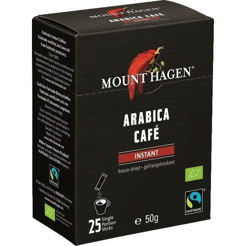 マウント ハーゲン オーガニック フェアトレード インスタントコーヒー スティック(50g(2g*25本入))