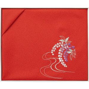 【まとめ買い10セット】日本製 刺繍入り二巾風呂敷 ふろしき おしゃれ かわいい 和風 和モダン 国産 花柄 和柄 贈答品 お祝い 敬老の日 引っ越し祝い 結婚祝い 出産祝い 高級感 上品 和雑貨