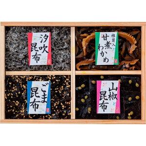 【まとめ買い10セット】風味彩々 4品佃煮木箱詰(L-15) 敬老の日