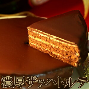 送料無料 魅惑のザッハトルテ (冷凍)5号 洋生菓子 ケーキ ホール チョコケーキ パーティ 誕生日 お祝い 美味しい チョコレート ザッハットルテ お土産