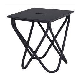 送料無料 サイドテーブル 幅40cm ミニテーブル 机横 デスクサイド おしゃれ 椅子横木製 テーブル センターテーブル ローテーブル ソファーサイド ベッドサイドテーブル ディープパープル アウトドア風 机 つくえ 花台 フラワースタンド シンプル 寝室 RT-1162BL