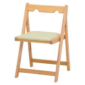 送料無料 折りたたみチェアー チェア 折りたたみ 椅子 持ち運び コンパクト 省スペース シンプル チェア いす 折り畳み ダイニングチェアー 木製チェア 折りたたみ椅子 リビングチェア 折畳 ナチュラル VC-7371NA