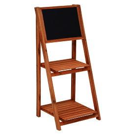 送料無料 黒板 スタンド 看板 立て看板 ショップ ガーデニング 黒板スタンド カフェ 折りたたみ 花屋 ガーデンファニチャー おしゃれ VGCC-7364