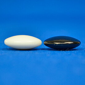 プラ碁石(1粒売り) 竹(厚み約8mm)