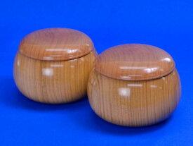 木製碁笥 桜 特大