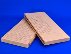 囲碁盤 スライド卓上碁盤 新桂1寸(19路13路盤)