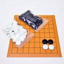 囲碁セット 将碁屋マット9路盤セット(ガラス碁石椿)