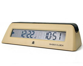 対局時計 ショウギクロック(デジタル式)※将棋囲碁連珠等、対局を本格的に楽しむアイテム