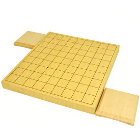 将棋盤 新かや1寸ハギ卓上将棋盤(駒台付き)
