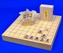 将棋セット ヒバ1寸5分卓上将棋盤セット(木製将棋駒アオカ押し駒)
