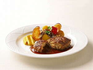 ニチレイフーズ)ハンバーググロッソ 110g(冷凍食品 焼目 肉厚感 冷凍 ハンバーグ 洋食 アラカルト 牛肉)