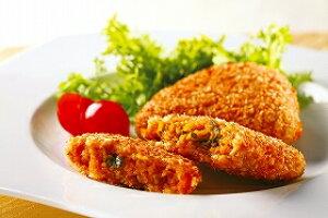 ヤヨイサンフーズ)国産カボチャ挽肉フライ 約60g×10個(冷凍食品 一品 野菜 洋食 揚げ物 揚物 あげもの)