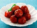 ケイエス)やわらか鶏つくね(てりやき味) 500g(20個入)(和食,肉,魚料理)