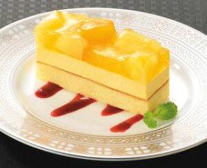 フレック)フリーカットケーキ パイン&マンゴー 495g(冷凍食品 パイナップル 芒果 ケーキ 洋菓子 パイン マンゴー デザート)