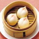 【新商品】テーブルマーク)繁盛飲茶ひとくち桃まん 500g(約25g×20個)(冷凍食品 一口サイズ あんまん 中華点心 デ…