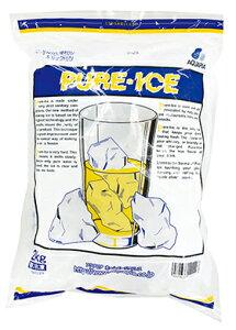ピュアーアイス 2kg (約120粒入) 102410(ドリンク こおり 氷 アイス)