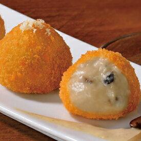 味冷)ポルチーニ香るフンギクリームソースのフリット300g(25g×12個入)(冷凍食品 3種のきのこ おつまみ 惣菜 フライ きのこ)