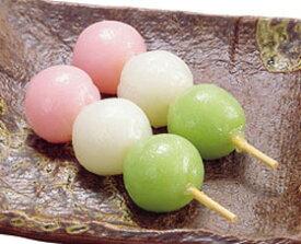 オリジナル)三色花団子 約30g×10本入(冷凍食品 3色だんご 甘味 業務用食材 デザート スィーツ 和菓子)