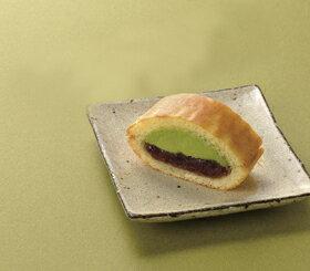 味の素)フリーカット和菓子生ドラヤキ抹茶 340g(業務用食材 和菓子 スイーツ あんこ トッピング 茶)