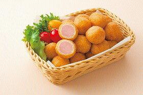 ニッスイ)ミニアメリカンドッグ(一口サイズ) 約13g×40個(冷凍食品 一口サイズ 電子レンジ オーブン あめりかんどっぐ ドッグ)