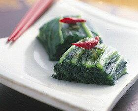 山豊)広島菜漬(国産)冷凍 1kg(冷凍食品 一品 惣菜 お通し 漬物 和惣菜)