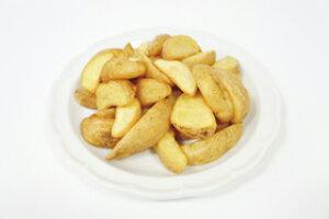 ベルギー産 フライドポテト ナチュラルカット 1kg (8分の1カット) 12784(一品 揚物 ポテト じゃがいも ポテトフライ)