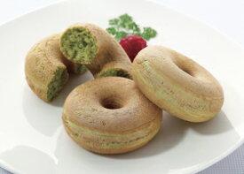 ケイエス)焼きドーナツ(ほうれん草)30g×10個(冷凍食品 スナック 業務用食材 冷凍 洋菓子 どーなつ おやつ ホウレンソウ)