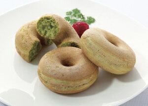 焼きドーナツ (ほうれん草) 30g×10個入 12817(スナック 冷凍 洋菓子 どーなつ おやつ ホウレンソウ レンジ UDF区分容易にかめる)