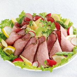 林兼産業)ローストビーフ切落とし 500g(冷凍食品 丼 サラダ トッピング オードブル 牛肉 オードブル ビーフ)