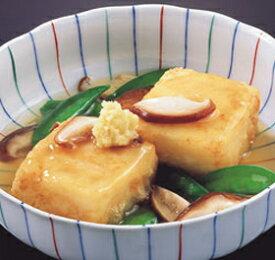 マメックス)揚げだし豆腐ブロック40 850g(20個入)(冷凍食品 あげだし とうふ 業務用食材 揚げ出し 豆腐 和食)