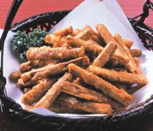 ニチレイ)ごぼうの唐揚 600g(約150〜200個入)(冷凍食品 カラアゲ からあげ 業務用食材 ごぼう 牛蒡 唐揚げ 野菜 和食)