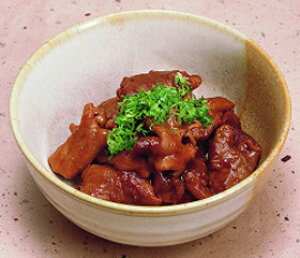 南部商会)豚どて煮(豚モツ煮) 150g(冷凍食品 味噌煮込み 業務用食材 豚肉 どて煮 モツ)