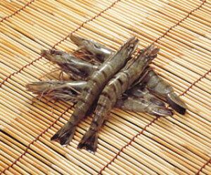 ブラックタイガー有頭 30尾 1.3kg(冷凍食品 天ぷら フライ 業務用食材 エビ 海老 ブラックタイガー)