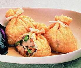味の素)五目巾着袋 30g×50個入(冷凍食品 煮物 おでん 業務用食材 巾着袋 小鉢 惣菜 和食)