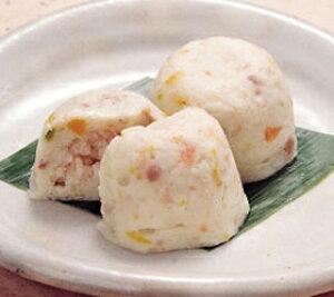 ヤマ食)長芋饅頭 約55g×14個入(冷凍食品 ながいも 割烹 弁当 仕出 業務用食材 長芋 割烹)