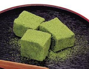 わらび餅 (抹茶) 1kg (約60個入) 39195(わらびもち 冷凍 和菓子 デザート)
