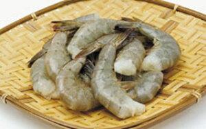 バナメイ無頭 21/25 1.8kg(冷凍食品 天ぷら フライ 業務用食材 エビ 海老 無頭 バナメイ)