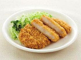 四国日清)徳用ロースとんかつ 60g×50枚入(業務用食材 ロースカツ 洋食 肉料理 冷凍食品)