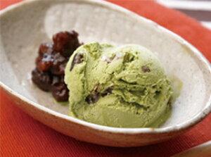 カワ)抹茶あずき業務用 2L(アイスクリーム)(冷凍食品 アイスクリーム デザート カフェ 大容量 業務用食材 冷凍 洋菓子 アイス)