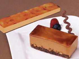 味の素)フリーカットケーキ キャラメル 510g(冷凍食品 バイキング パーティー ムース 業務用食材 冷凍 洋菓子 ケーキ)