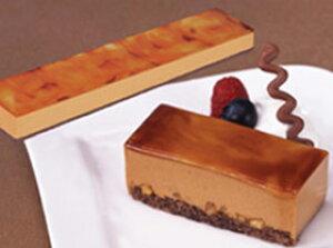 フリーカットケーキ キャラメル 510g (カットなし) 5308(バイキング パーティー ムース 冷凍 洋菓子 ケーキ)